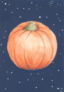 Pumpkins in Space image