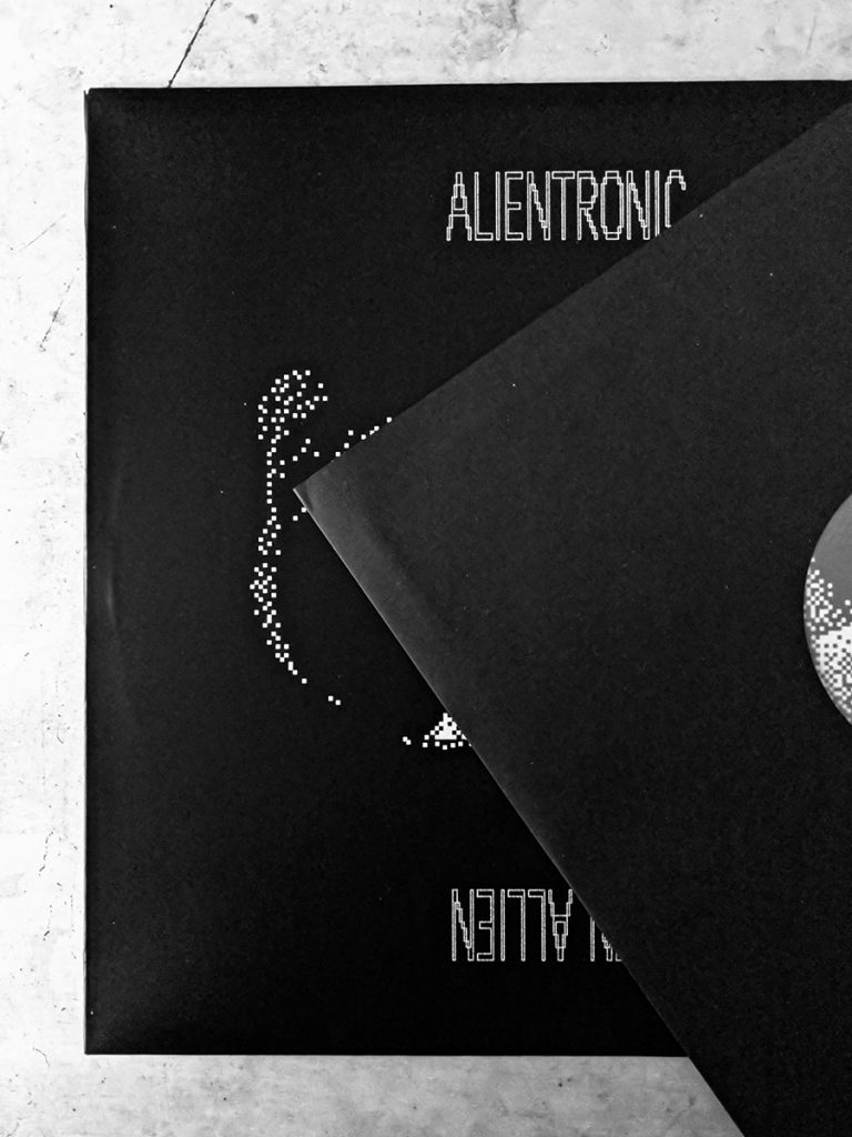 murpworks Ellen Allien - Alientronic vinyl image